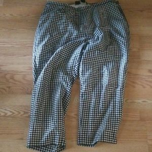 Ralph Lauren 100% silk pants size 22